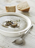 Mushroom soup Stock Photo