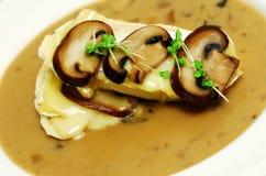Mushroom soup stock photography