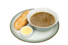Mushroom soup Royalty Free Stock Images