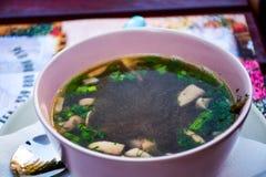 Mushroom Soup Royalty Free Stock Image