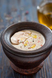 Mushroom soup puree Stock Photo