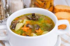 Mushroom soup Royalty Free Stock Photography