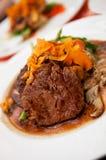 Mushroom Steak Stock Image