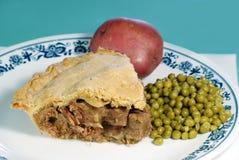 Mushroom and Steak pie Stock Photo
