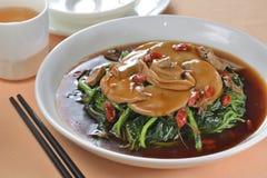 Mushroom Stewed vegetable Royalty Free Stock Photography