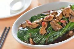 Mushroom Stewed vegetable Royalty Free Stock Image