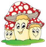 Mushroom theme  Stock Photo