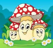 Mushroom theme Royalty Free Stock Photos