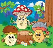 Mushroom theme image 6 Stock Photos