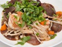 Mushroom Tofu Stock Images