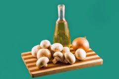Field mushrooms. Stock Image
