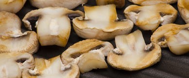 Grilled mushrooms Royalty Free Stock Photo
