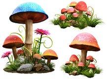 Mushrooms royalty free illustration