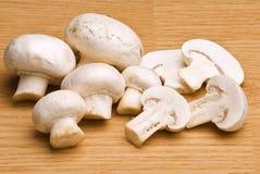 Mushrooms macro Royalty Free Stock Images