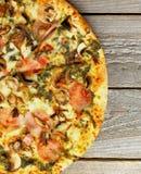 Mushrooms Pizza Royalty Free Stock Photos
