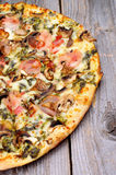 Mushrooms Pizza Royalty Free Stock Image