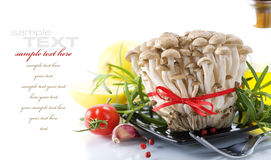 Mushrooms and vegetables Stock Photo