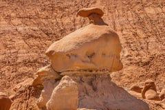 Mushroon不祥之物恶鬼谷国家公园犹他 图库摄影
