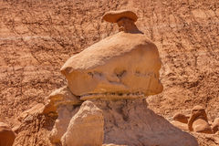 Mushroon Hoodoo Goblin Valley State Park Utah Stock Photography