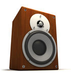 Musi� speakers Royalty Free Stock Image