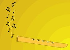 Music. Theme background. Rasterized from vector format Stock Images