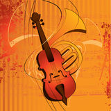 Music. Wallpaper or background for the design and illustration royalty free illustration
