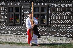 Music , Cicmany , Slovakia Stock Images