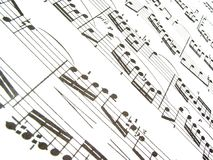 Music. Sheet Music Stock Images