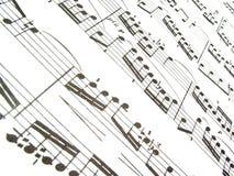 Music. Sheet Music Stock Images