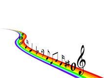Music. Elements isolated on white background Stock Image