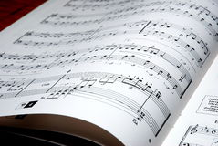 Music. Notes on white background Royalty Free Stock Photo