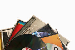 Music. Cd's music Stock Image