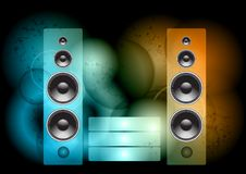 Music abstract Royalty Free Stock Images