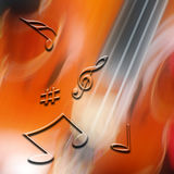 Music abstract Stock Image