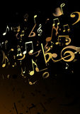 Music Abstract background Royalty Free Stock Image