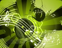 Music abstract background Stock Images