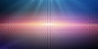 Music abstract background blue. Eps10 vector illustration. Music abstract background blue. Equalizer for music, showing sound waves with music waves, music Royalty Free Illustration
