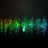 Music abstract background Royalty Free Stock Photo