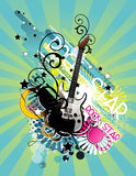 Music abstract illustration Royalty Free Stock Photo