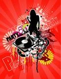 Music abstract illustration Stock Photo