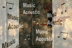 Music, acoustic Royalty Free Stock Photography