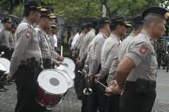 MUSIC ALERT SECURITY POLICE UNIT ELECTION Royalty Free Stock Photo
