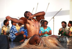 Music And Dance Of Fiji Royalty Free Stock Images