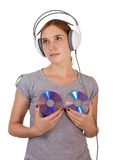 Music angel Stock Photography