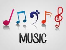Music art  graphic design Royalty Free Stock Photo