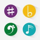 Music art  graphic design Stock Photo