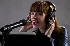 Music Artist Singing Stock Photos