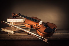 Music and arts still life stock photos