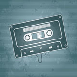 Music audio cassette Royalty Free Stock Photography