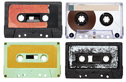 Music audio tape vintage Royalty Free Stock Photo
